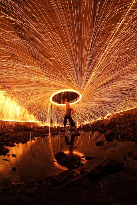 Third Prize (Colour): Fire Rain Maker - Robb McCaghren (Nanaimo)