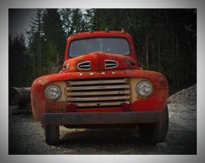 Old Ford Pickup © Art Jurisson