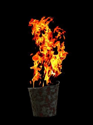 Fire Bucket © Ron McBride