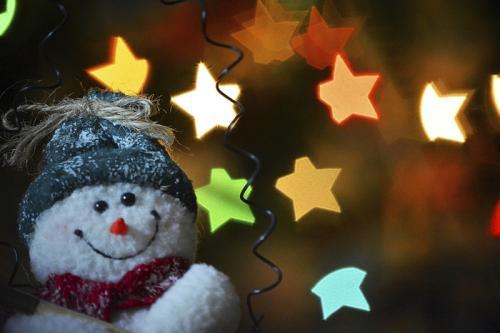 Star Struck Snowman © Lindsey Woods