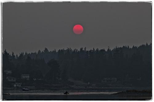 Red Sunset © Brian Clemens
