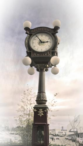 Mayfair Clock © Pat Haugen