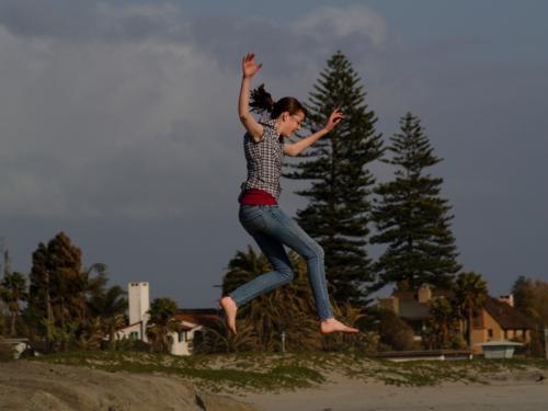 Jump © Len Gatey