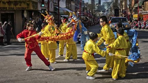 Chinese New Year © Erika Nadon