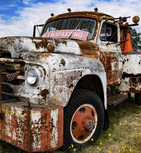 Zombie Truck © Sue Williams