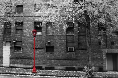 Red Lamp © Ron McBride