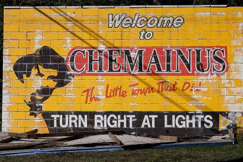 Chemainus Welcome Sign © Sue Williams