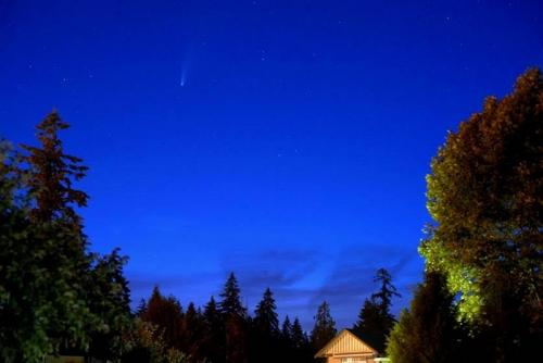 Comet Neowise © Barry Ellis