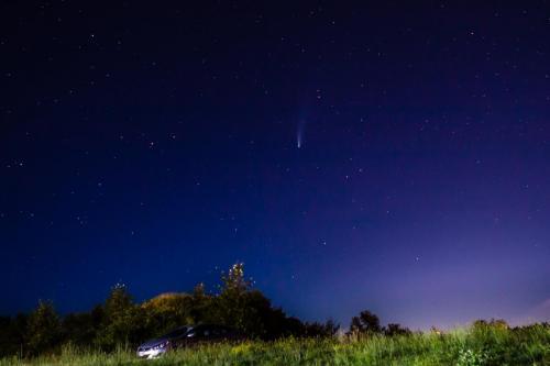 Comet Neowise © Terry Jones