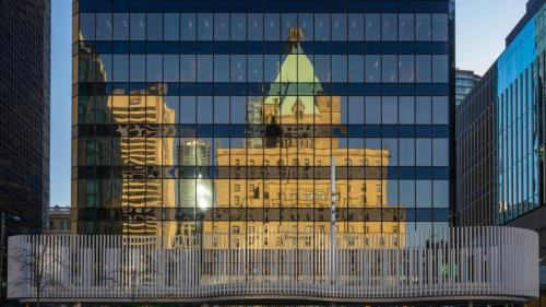 Hotel Reflection © Doug Currie