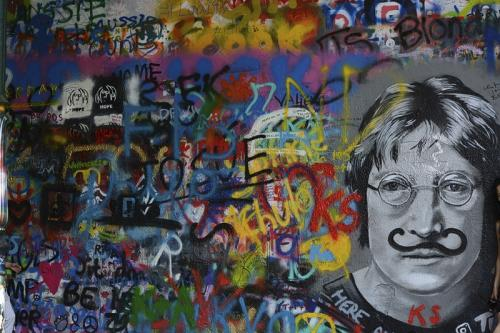 John Lennon Wall © Lindsey Woods