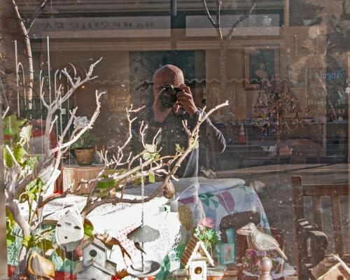 Self Portrait in a Display Window © Bill Brown