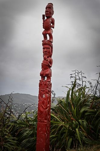 New Zealand Totem © Charlie Schaal
