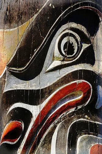 Old Totem Detail © Pat Haugen