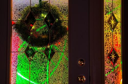 Inside Out, Christmas Door © Charlie Schaal
