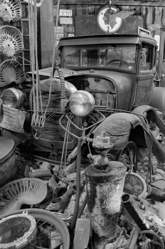 Auto Boneyard © Sue Williams