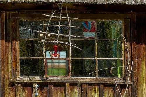 Interesting Window © Pat Haugen