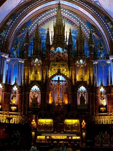 Basilica, Montreal © Linda McBride