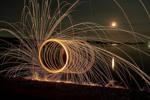 Sparklers © Sue Williams