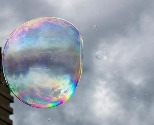 Bubble in the Rain © Betty Todd